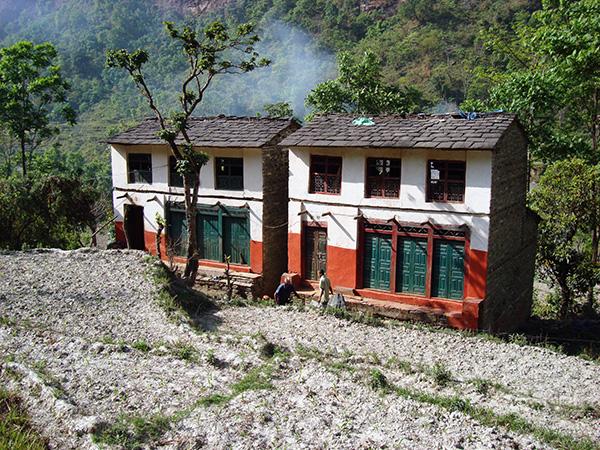 Dhaulagiri 2008 immagini della salita for Disegni casa colonica